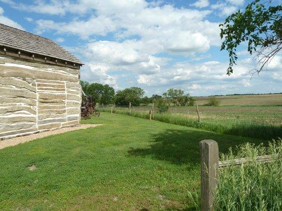 Homestead National Monument of America: Homesteaders cabin