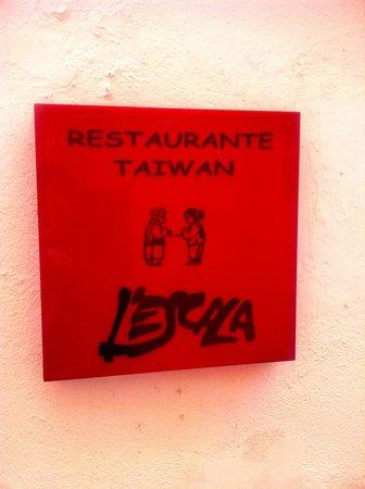 L'Escala Taiwanese Restaurant: Restaurante Taiwan