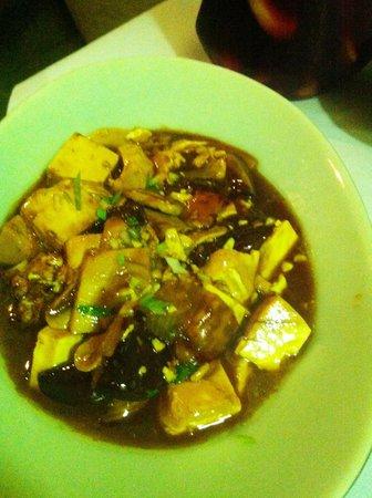 L'Escala Taiwanese Restaurant: tofu with bamboos