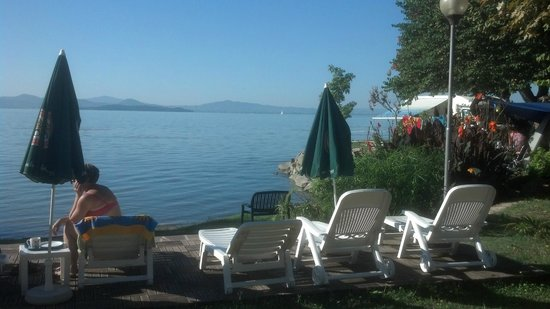 Hotel Kursaal Umbria: Lake View