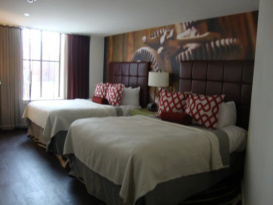 Hotel Indigo Nashville : Bedroom