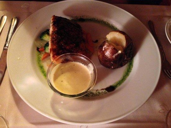 Salthusid: Oven Baked Salmon