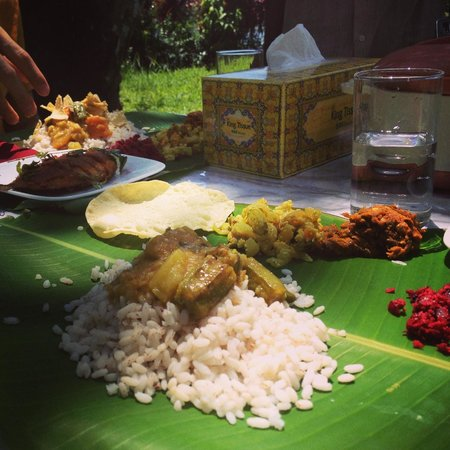 The Pamba Heritage Villa: Lunch