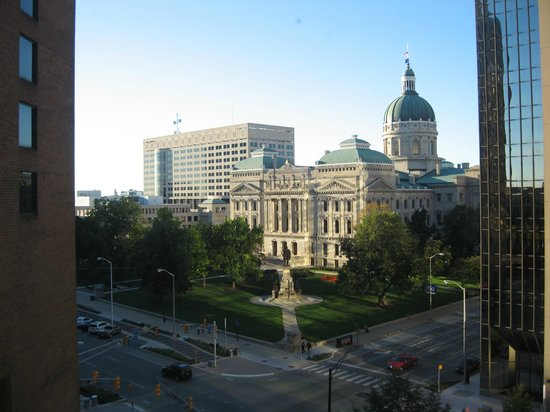 Hyatt Regency Indianapolis: Capital View