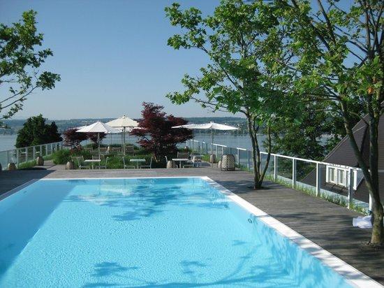 Dachterasse mit pool bild von riva das hotel am for Schickes hotel