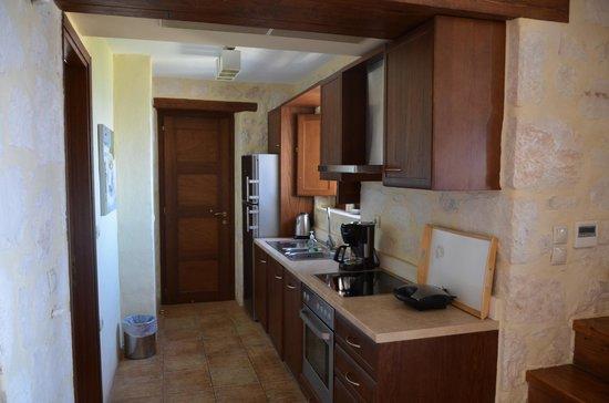 Exensian Villas & Suites : Kitchen