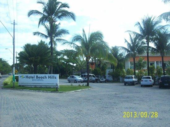 Hotel Beach Hills : Vista da fachada do hotel