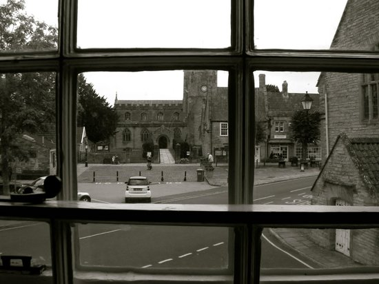 The White Hart Somerton: The view