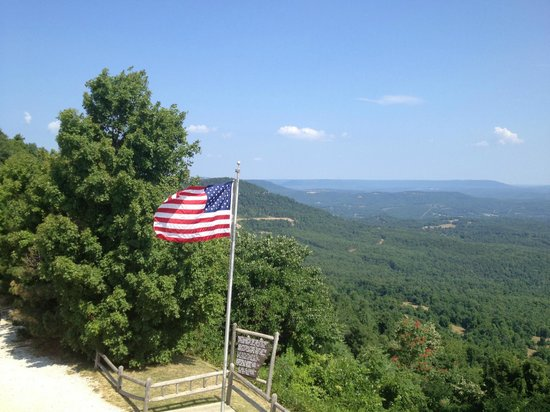 Jasper, AR: Beautiful views from the Observation Deck