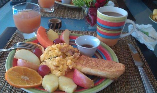 Coconut Lodge: Un desayuno majestuoso!
