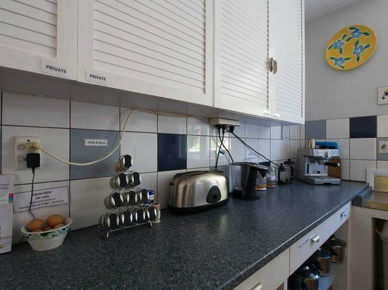 Anakiwa 401: Kitchen in main house with all home comforts including espresso machine