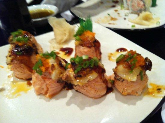 More Vino: Aburi Ring - Signature Sushi Roll