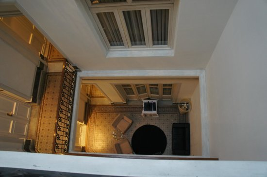 Hotel Plaza Fuerte: hallways