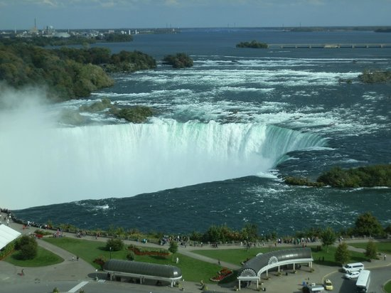 Niagara Falls Marriott Fallsview Hotel & Spa: View from our room on 12 Floor