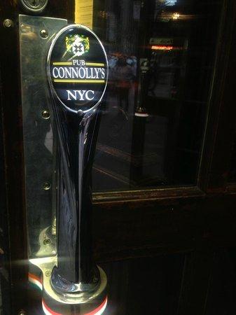 Connolly's Pub & Restaurant: What a door handle!
