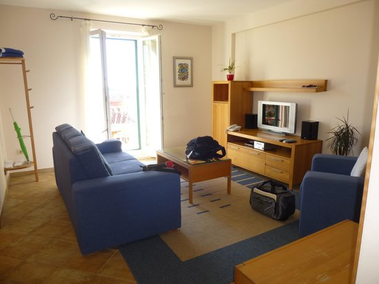 Hotel Park Hvar : Room 23 Living room with Balcony