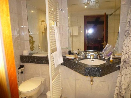 Zum Ochsen Hotel: Bathroom Provence Room