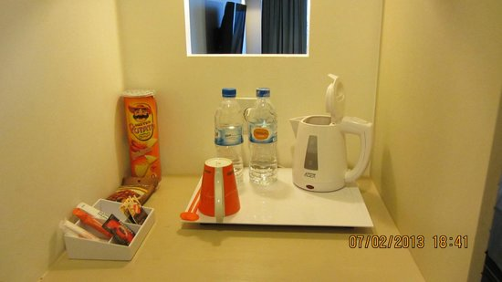 HARRIS Hotel Batam Center: Complimentary mineral water