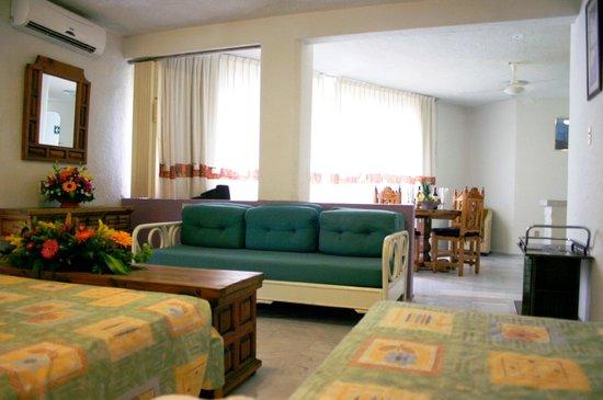 Jazmin Suites: Habitación 1 Recamara