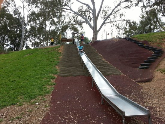 Adelaide, Australia: Ace slide for young and old