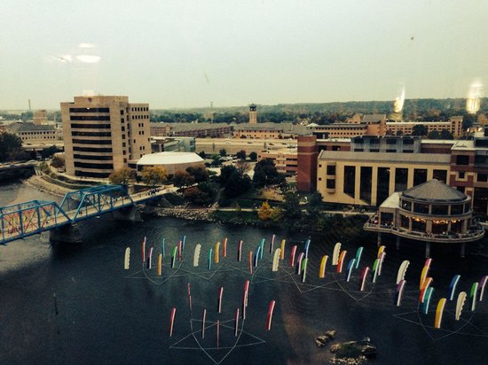 JW Marriott Grand Rapids: View from our room, 11th floor.