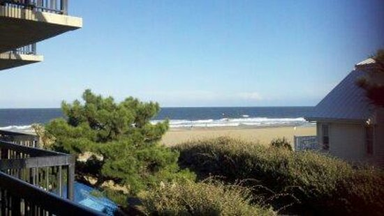 Wyndham Virginia Beach Oceanfront : The view from my room