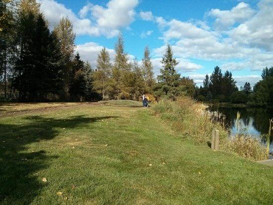 University of Alberta Botanic Garden: On the grounds