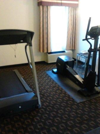 """Quality Inn: """"Fitness Center"""""""