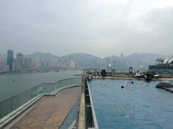 Harbour Grand Kowloon: View from rooftop pool