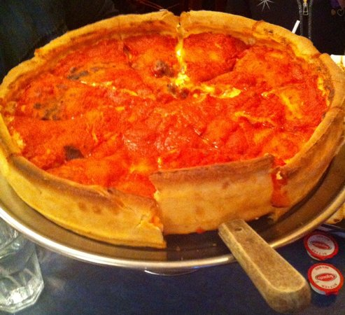 Chicago Style Pizza Shack: Chicago special pizza. Wow, amazing,