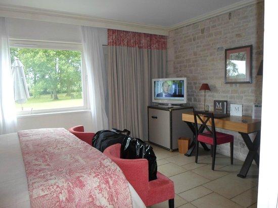 Les Manoirs de Tourgeville: ma chambre 65 en rez -de -jardin