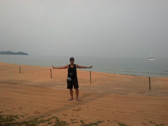 Club Med Cherating Beach: At the beach....