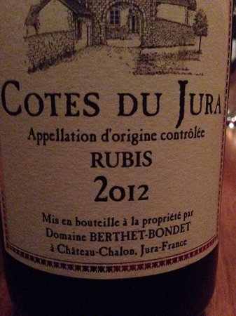 Les 400 Coups : Nice wine from the Jura