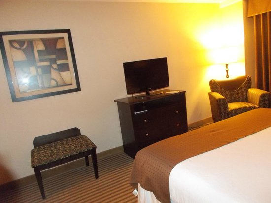 Holiday Inn Charlotte - Center City: TV - no frig/microwave