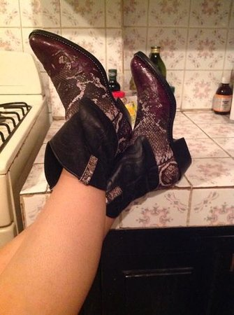 Cocobolo Artwear: my Rock'n Nicaboy boots!