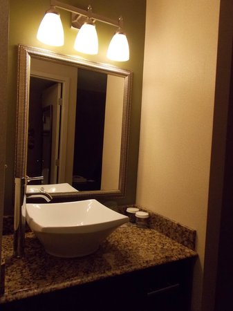 Holiday Inn Charlotte - Center City: Sink is not located in the bathroom