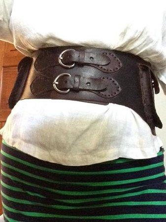 Cocobolo Artwear: Cocobolo belt