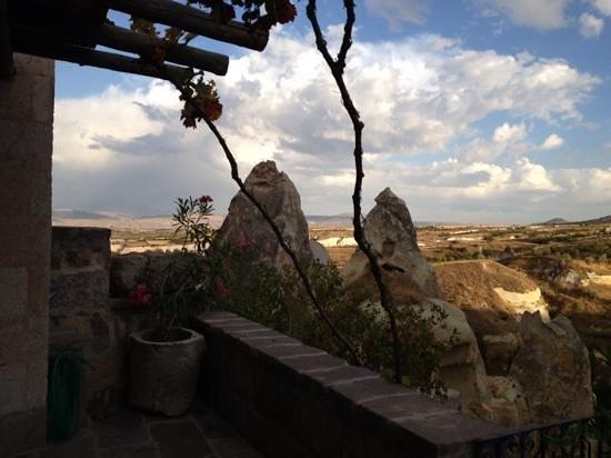 Les Maisons de Cappadoce : la terrasse
