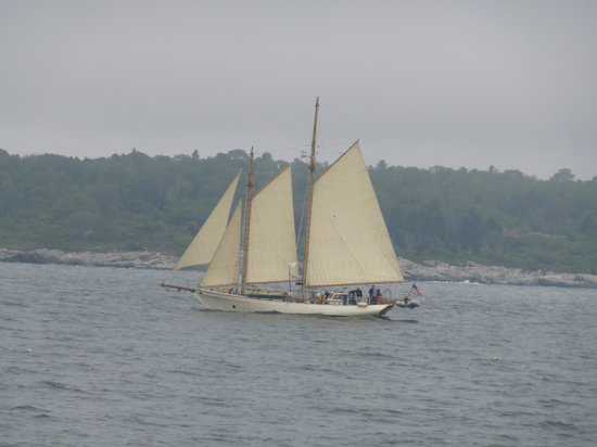 Naked sailing casco bay