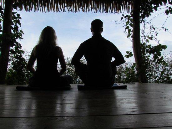 Farm of Life (Finca de Vida): Yoga Platform