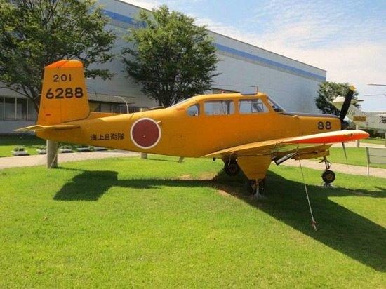 Ishikawa Aviation Plaza: 自衛隊機黄