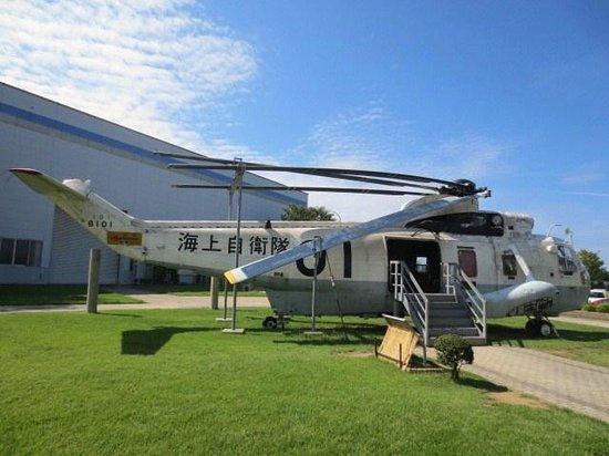 Ishikawa Aviation Plaza: 自衛隊機白