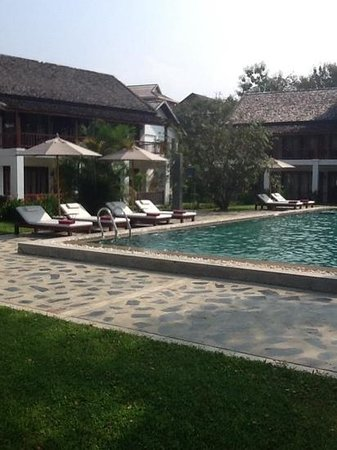 Riverside Boutique Resort: great place to chill out