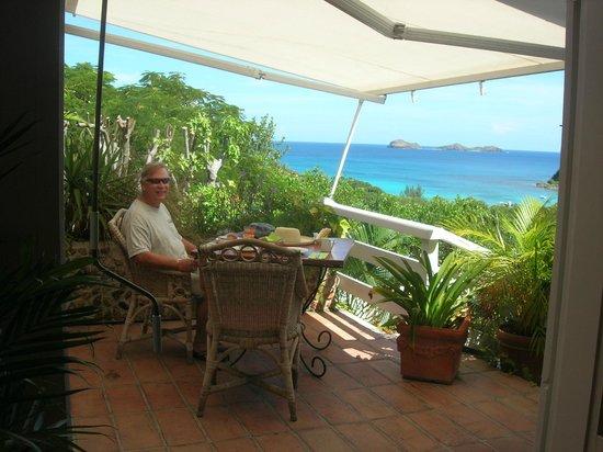 Hotel LeVillage St Barth: Breakfast!!!