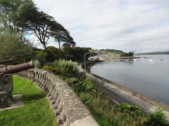Bantry House & Garden: View from the grounds