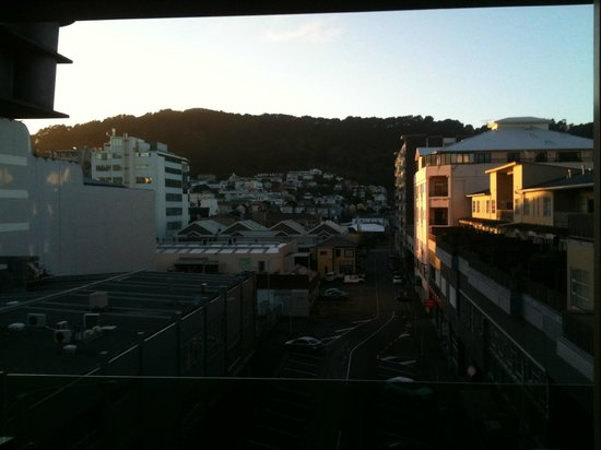 Distinction Wellington, Century City Hotel : Wellington morning over Tory St from deck