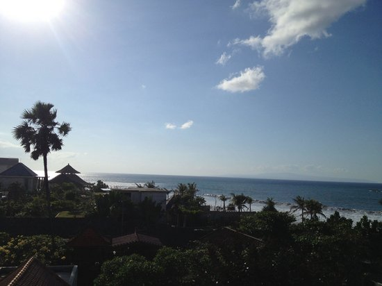 Ketewel, Indonesia: Ocean view from the terrace!