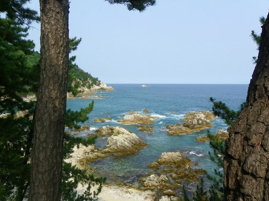 Samcheok, Corea del Sur: View from the point