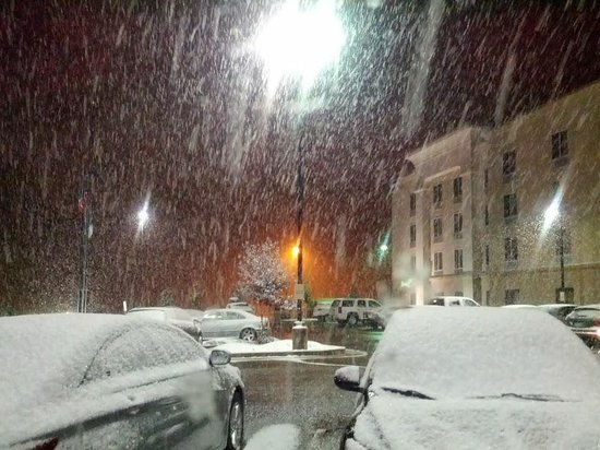 Hampton Inn & Suites Green River: Great place to get out of the weather!