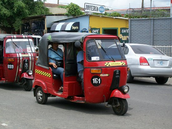 Managua Hills Bed and Breakfast: Typical mode of transportation